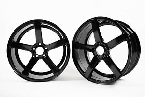Vossen Cv3 r 19x8 5 19x10 Wheel Set In Gloss Black