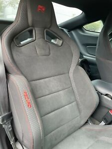 2015 2020 Mustang Shelby Gt350r Oem Recaro Seats Black Suede Manual Front