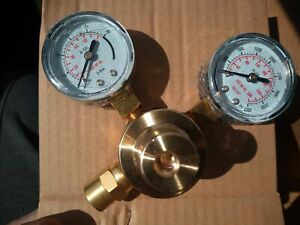 Oxygen Gas Regulator Welding Cutting Torch Pressure Gauge With Hose New