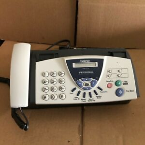 Brother Fax 575 Personal Fax With Phone And Copier Works