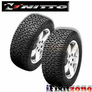 2 Nitto Dune Grappler All terrain Truck Lt285 55r20 122r 10pr Desert Mud Tires