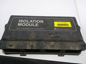 Fisher Snow Plow 4 Port Isolation Module Pn 26386