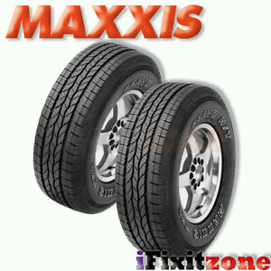 2 Maxxis Bravo Ht 770 225 70r16 107t Highway All Season Performance Tires New