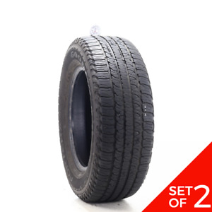 Set Of 2 Used 245 65r17 Goodyear Fortera Hl 105t 7 32