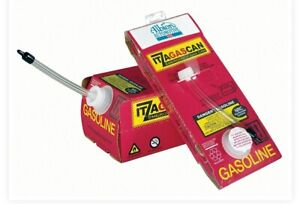 Single Use Gas Can 1 Gallon Itzagascan 2 Pack
