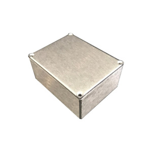 Bud Aluminum Electronics Enclosure Project Box Case Metal Small Natural Finish