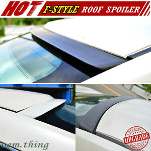 Fit For Cadillac Cts 2nd Coupe V F style Roof Sport Spoiler Window 11 14 Unpaint