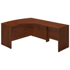 Series C Elite 60w X 43d Right Handed Bow Front L Shaped Desk With 36w Return