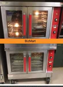 Used Vulcan Vc44ed Electric Double Stack Full Size Convection Oven