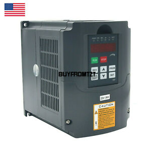 2hp 1 5kw 220v 7a Variable Frequency Drive Inverter Vfd Cnc Speed Control Us