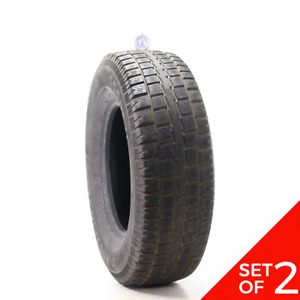 Set Of 2 Used 245 75r16 Cooper Discoverer M s 111s 6 5 32