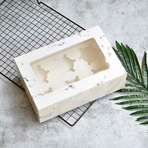 30 Pack Marble Cookie Boxes With Window Standard 9 37 X 6 22 X 3 Marbl