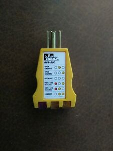 Ideal 61 500 Receptacle Circuit Tester
