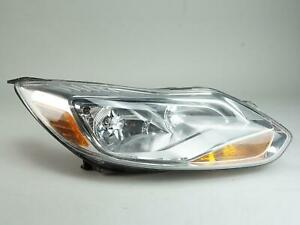 2012 2014 Ford Focus Headlight Headlamp Asesmbly Passenger Right Rh Side Oem