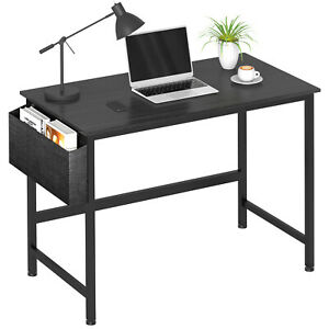 Modern Computer Desk Office Desk Writing Table For Home Office With Storage Bag