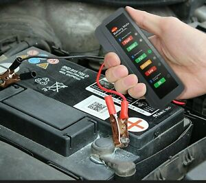 12v Battery Tester Car Charging Load Cranking Test Tool Automotive Auto Analyzer