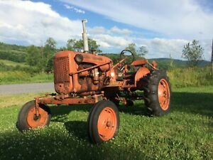 1949 Allis Chalmers C With Wide Front