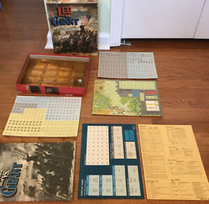 Lee vs. Grant: The Wilderness Campaign of 1864 1988 Victory Games War Game $64.97