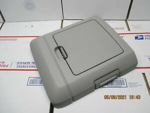04 08 Ford F150 Overhead Console Storage Door Gray Oem E3