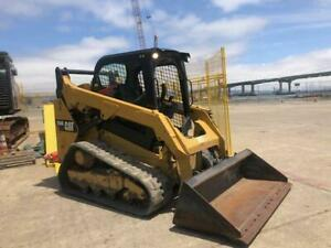 2016 Cat 259d Two speed Compact Track Loader