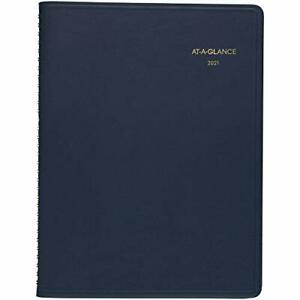 2021 Planner Weekly Appointment Book Day Minder 8 X 11 Large Black