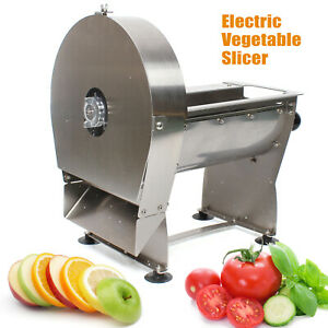 Electric Use Home Commercial Vegetable Potato Chopper French Fries Cutter Slicer