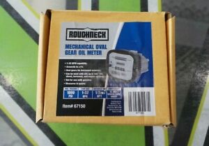 Roughneck Mechanical Oval Gear Oil Meter Model 67150 New