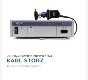 Karl Storz 20221130 And 20222120 Tricam Camera System