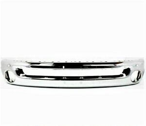 New Chrome Front Bumper For 2002 2009 Dodge Ram Pickup Ships Today