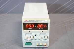 Mastech Hy3005d Regulated Variable Linear Dc Power Supply 30v 5a