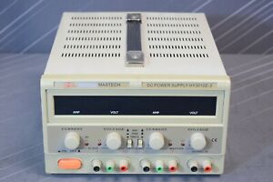 Mastech Hy3010e 3 Regulated Variable Dc Power Supply 30v 10a