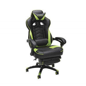 Respawn 110 Racing Style Gaming Chair Reclining Ergonomic Chair With Footrest