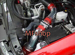 Red For 1996 2004 Chevy S10 4 3l V6 Pickup Cold Air Intake System Kit Filter