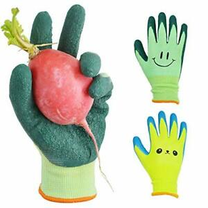 Kids Gardening Gloves For Ages 2 12 Toddlers Youth Girls Boys Children Gloves