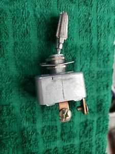 Vintage Nos Toggle Switch Various Applications 2 Wire On Off