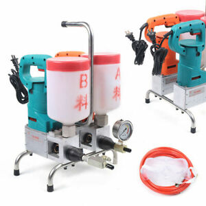 Piston Pump Grouting Steel Machine Electric Epoxy Injection High Efficiency1 5kw