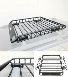 Universal Car Top Roof Rack Basket Suv Truck Luggage Carrier Cargo Holder Travel