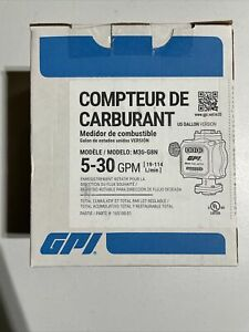 Gpi Quick fit Mechanical Fuel Meter 1in Inlet outlet Model M30 g8n New