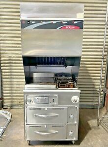 Wells Wvfgrw Ventless Combo Cooking System Fryer Griddle 2 Warmer Drawers