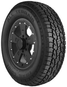 Multi Mile Trail Guide All Terrain Lt265 70r18 124 121r Bsw Tgt30 Set Of 4
