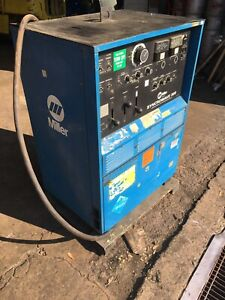 Miller Syncrowave 300 Ac dc Single Phase