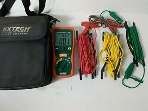 Extech 382252 Earth Ground Resistance Tester Kit With Case