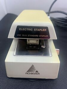 Tested Works Great Vintage Commercial Office Electric Stapler Achiever As 804