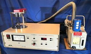Jeol Jfc 1200 Fine Sputter Coater With With Edwards 1 5 Vacuum Pump Excellent