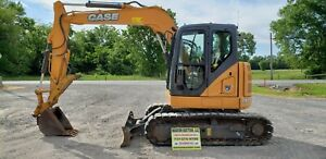 2015 Case Cx75csr Excavator Only 1342 One Owner Hours Just Serviced