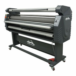 Us 67in Wide Format Full auto Roll To Roll Cold Laminator With Heat Assisted