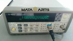 Agilent 53131a 225 Mhz Unuversal Frequency Counter Tested Used