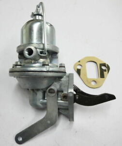 Mb Gpw Willys Ford Wwii Jeep G503 Cj2a Cj3a Fuel Pump With Hand Primer