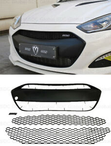 M s Abs Grille matte Black For Hyundai Genesis Coupe Bk2 2013 16 usa Stock