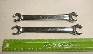 Snap On Wrench Set Metric Flare Nut 15 17 16 18 Made In Usa 1 1